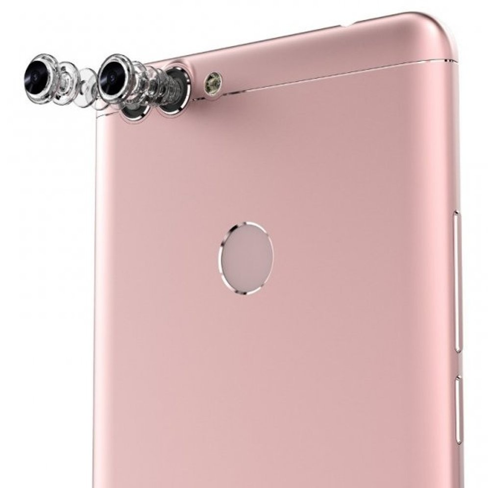 Смартфон отBluboo получит две сдвоенные камеры