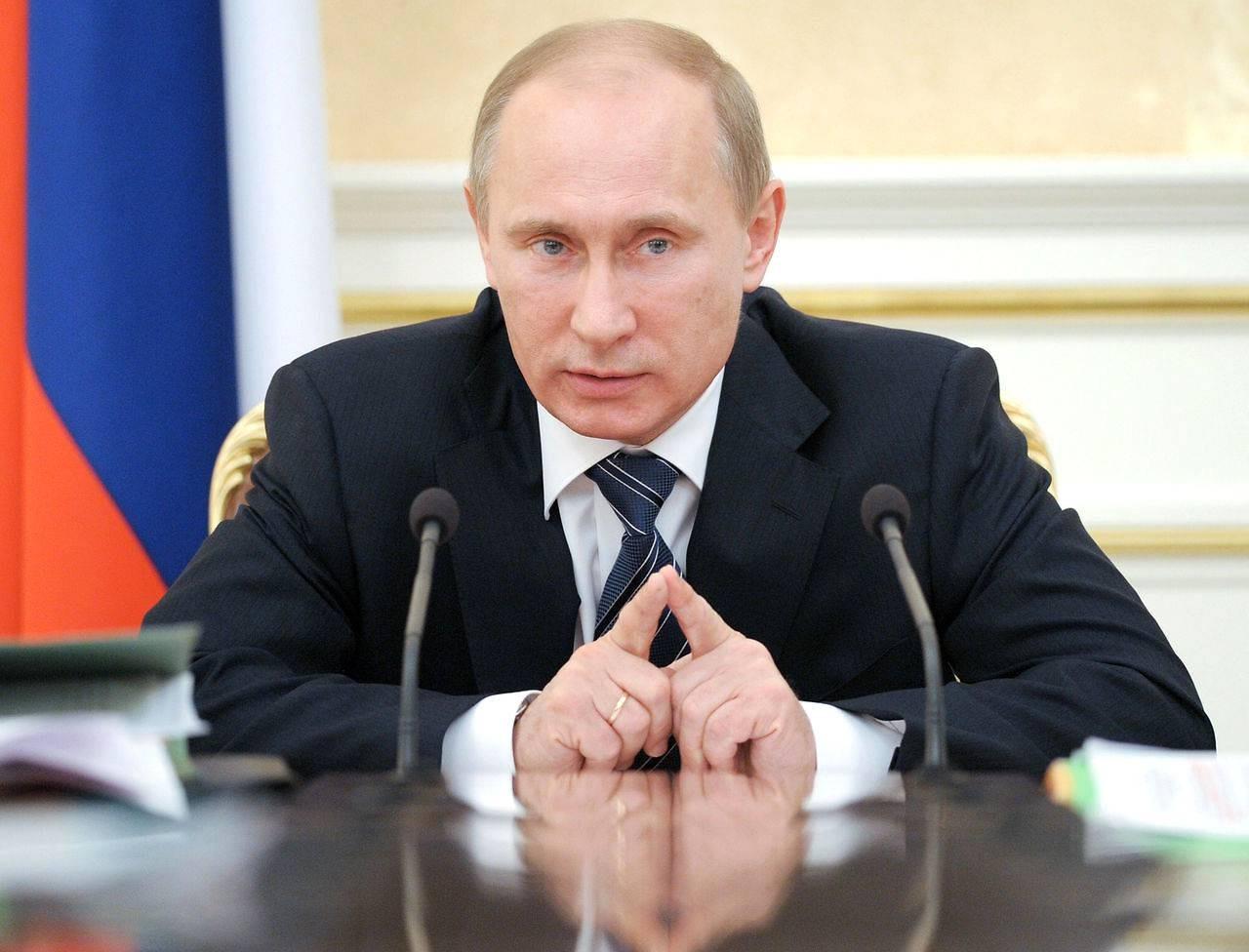 Путин отменил участие всветовом шоу вПетербурге из-за крушения Ту-154