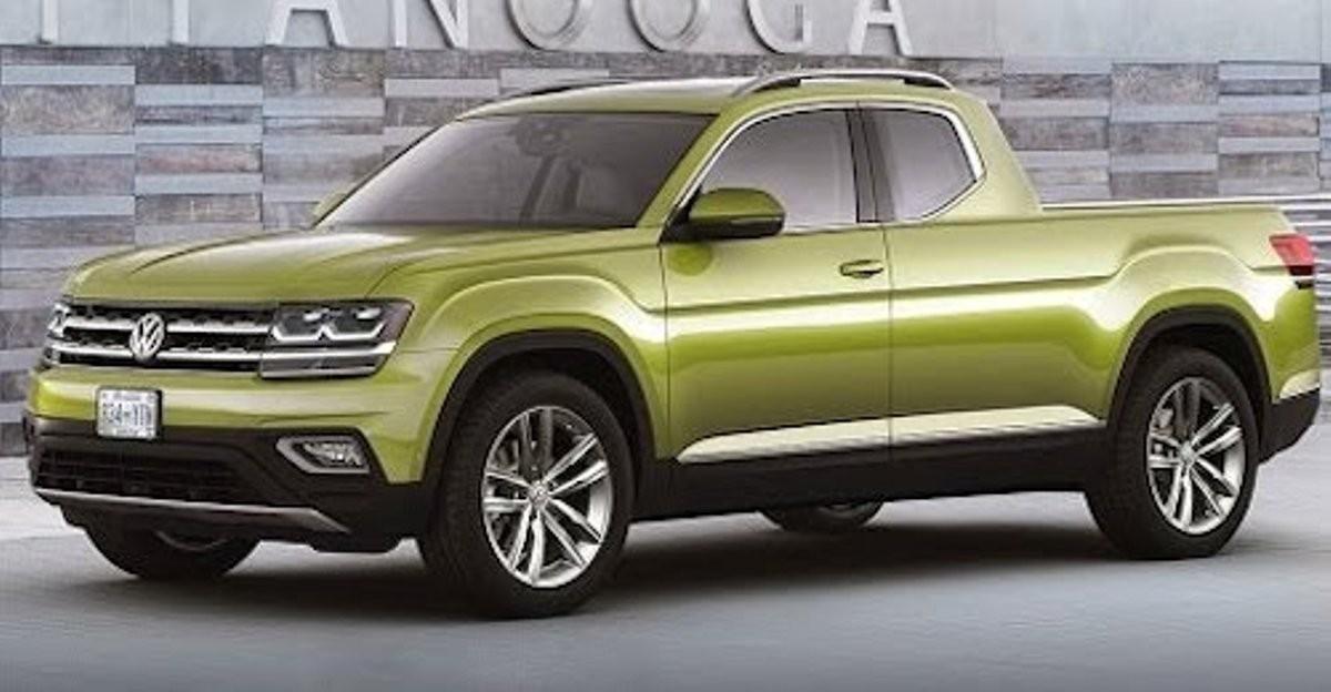 VW готовит для рынка Америки пикап огромных размеров