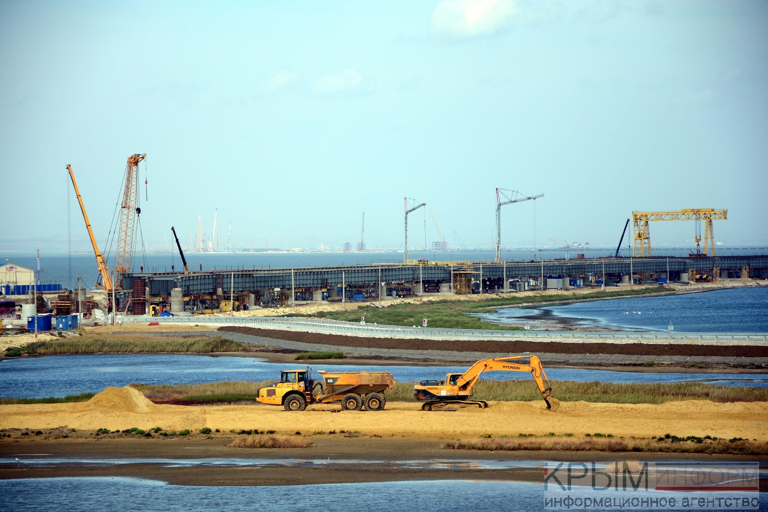 Настроительство железной дороги кКерченскому мосту неподано заявок