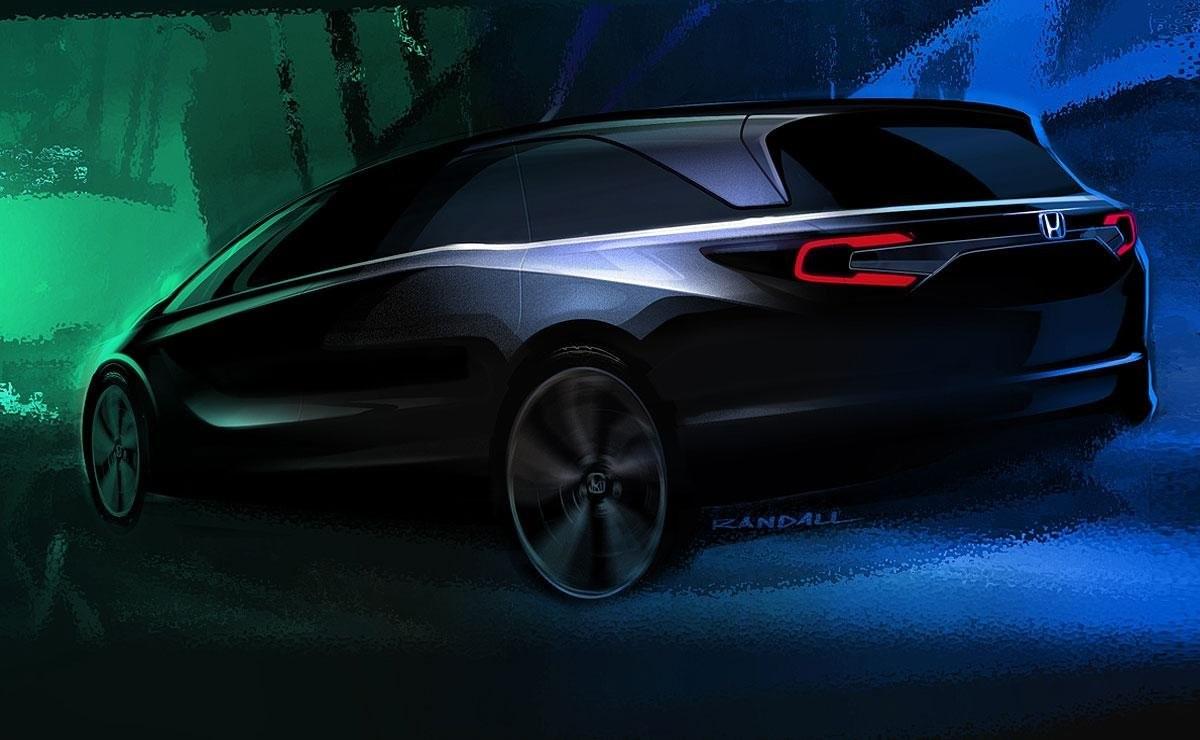 ВДетройте презентуют минивэн Хонда Odyssey 2018 модельного года