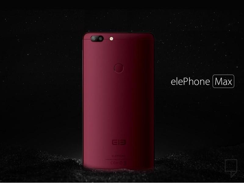 Фаблет Elephone Max сменил имя наElephone C1 Max
