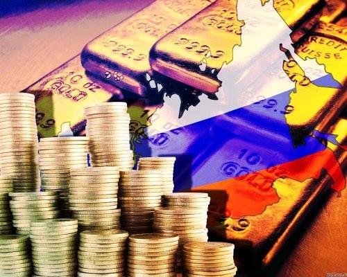 Международные резервы Российской Федерации занеделю стали больше на0,1 млрд. долларов