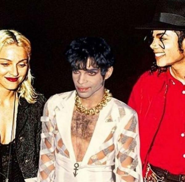 Мадонна показала архивный снимок с Принсем и Майклом Джексоном