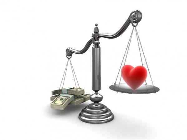 Учёные: любовь дороже денег