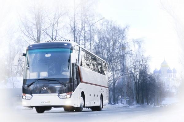 В Пятигорске при столкновении двух автобусов пострадали четыре человека