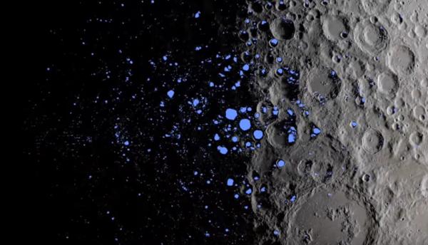 В кратерах Цереры зонд Dawn обнаружил залежи льда