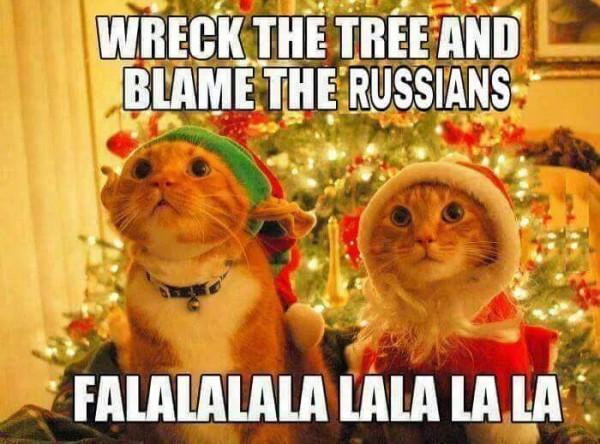 Американские пользователи в мемах обвиняют во всех бедах россиян