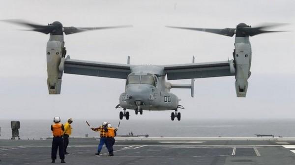 В КНР создадут конкурента конвертоплану США V-22 Osprey
