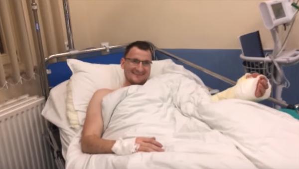 Первый случай в медицине: Пациенту, родившемуся без конечности пересадили руку