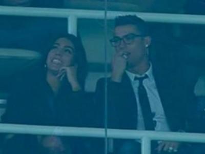 Криштиану Роналду посетил матч «Реала» со свой возлюбленной
