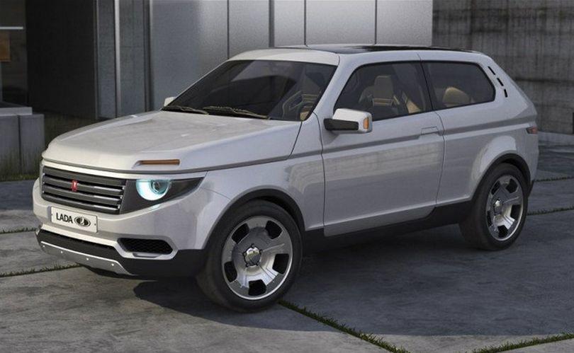 Вседорожный автомобиль Лада 4x4 CNG надва топлива презентуют в 2017г.