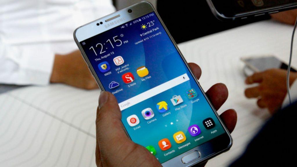 Компания Самсунг ксередине зимы обнародует отчет попроверке Galaxy Note 7