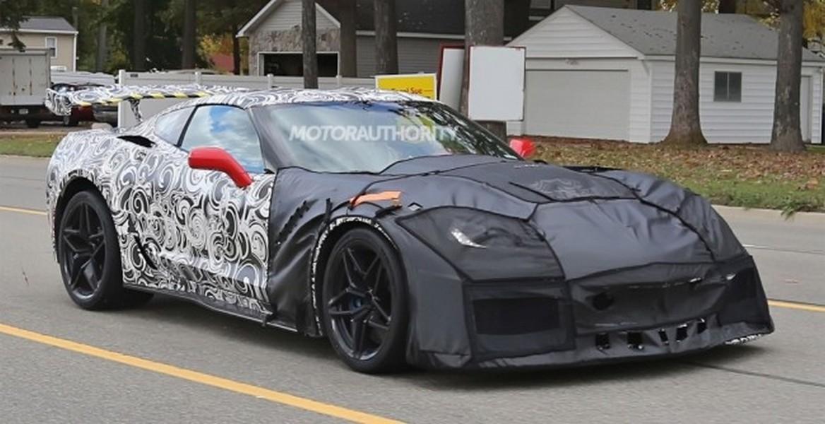 Стали известны детали оновом Шевроле Corvette
