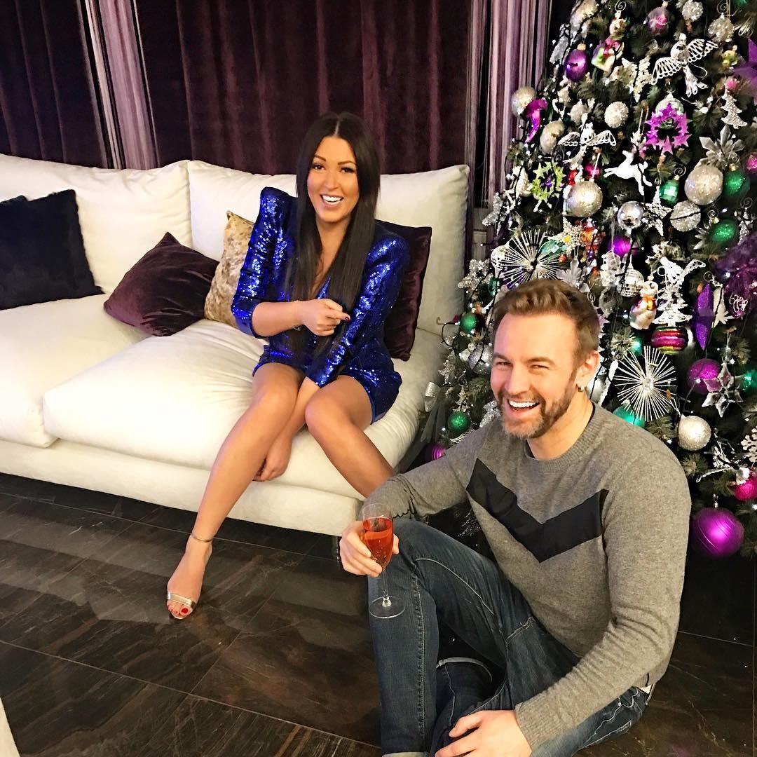Ирина Дубцова встретила Новый год с бывшим