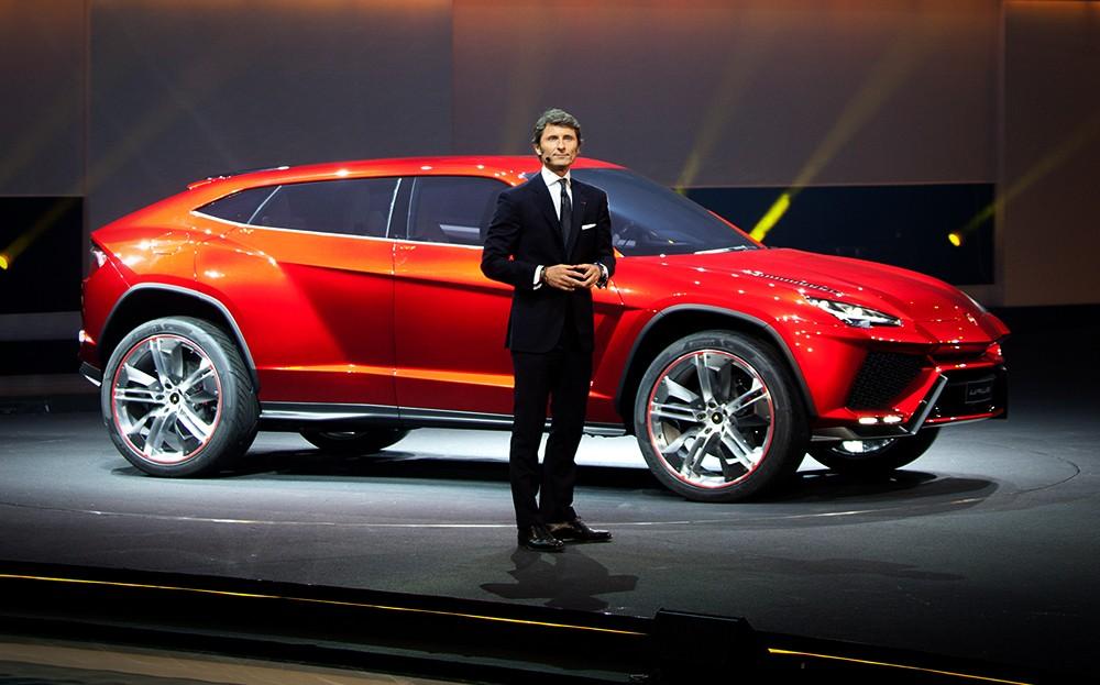 Размещен тизер джипа Lamborghini Urus 2018