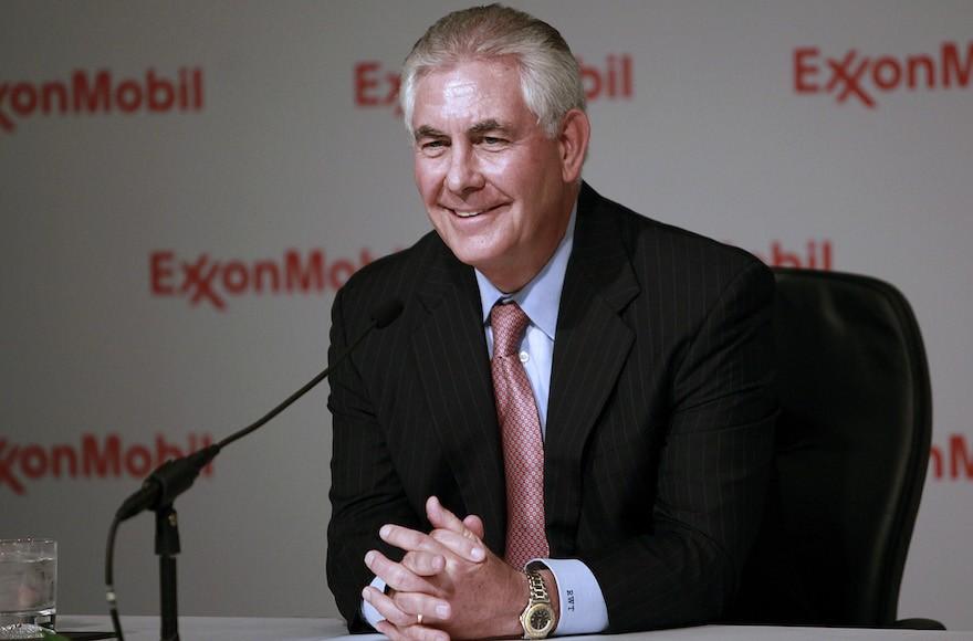 Будущий госсекретарь США пообещал порвать все связи сExxonMobil
