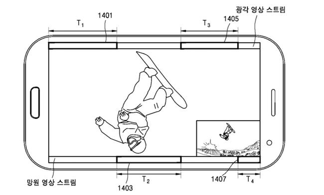 Самсунг патентует систему сдвойной камерой в телефоне