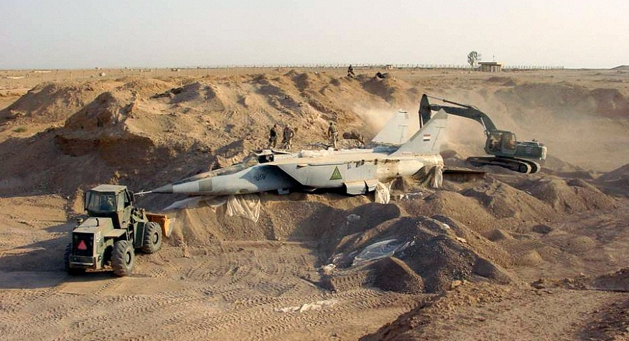 ВИраке разбился военный самолет