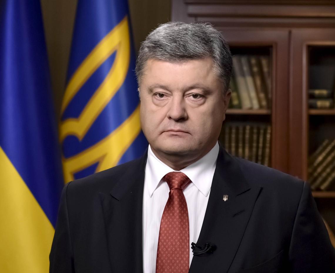 Порошенко поздравил СиЦзиньпина с25-летием установления дипотношений Украины и Китайская народная республика