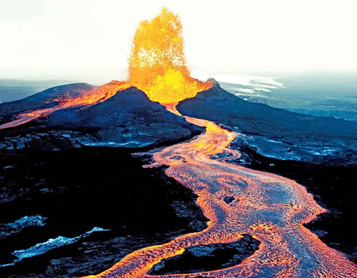 Ученые узнали, как часто происходят извержения вулканов