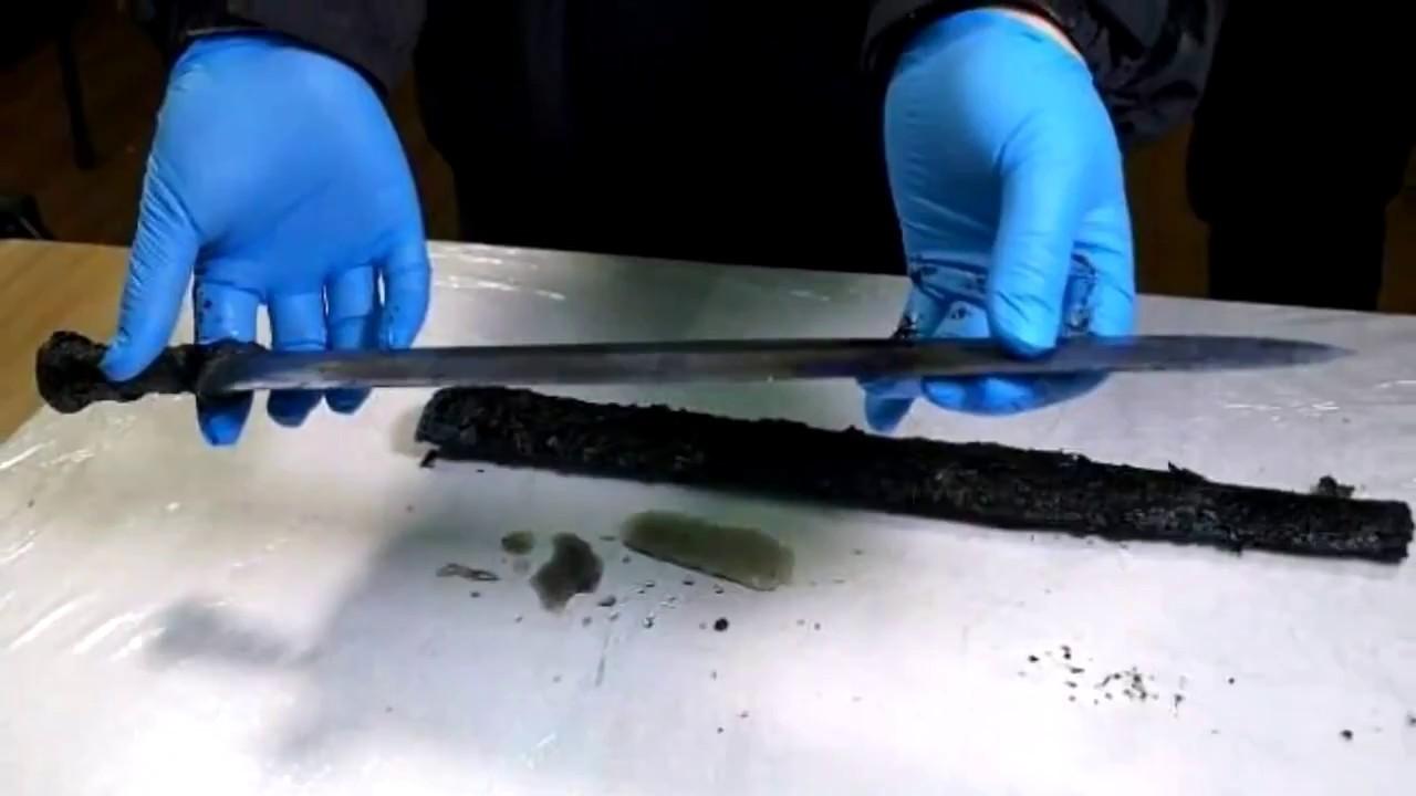 Китайские археологи отыскали меч возрастом 2300 лет
