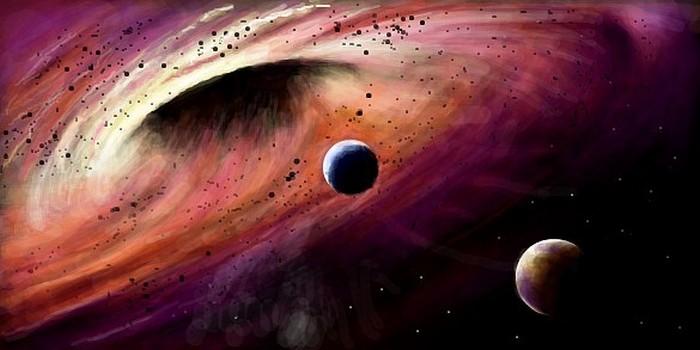 УМлечного Пути отыскали  две сверхмассивные черные дыры