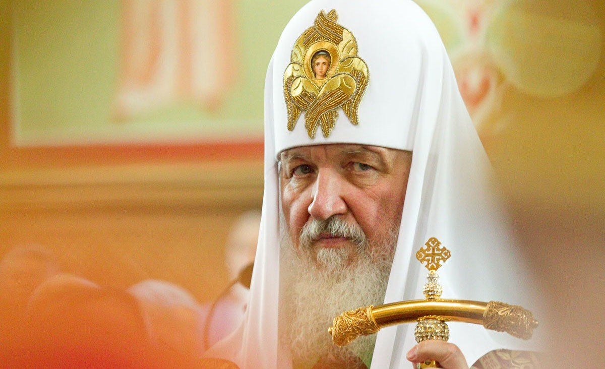 Патриарх Кирилл выступил против оскорбительных изображений вкультуре