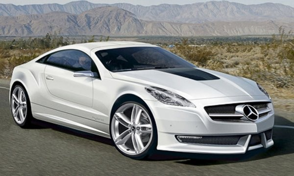 Вглобальной web-сети размещено фото автомобиля Mercedes AMG