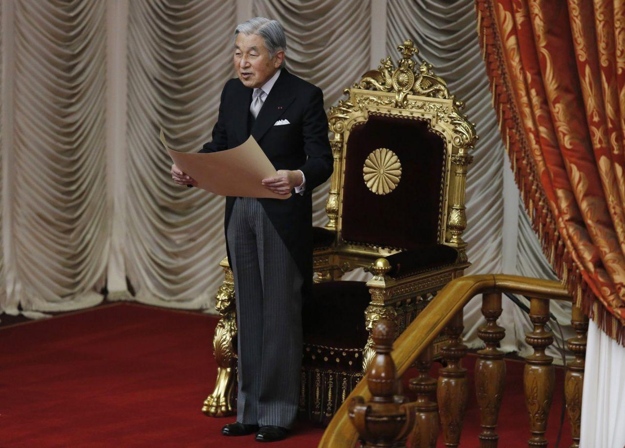 Новый император Японии взойдет напрестол в 2019г.