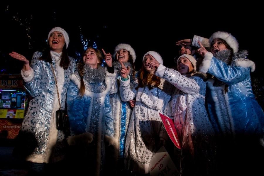 В столице России  пройдет парад Снегурочек