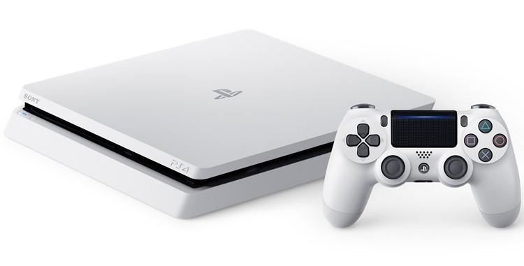 Белая PS 4 поступит в реализацию ксередине зимы