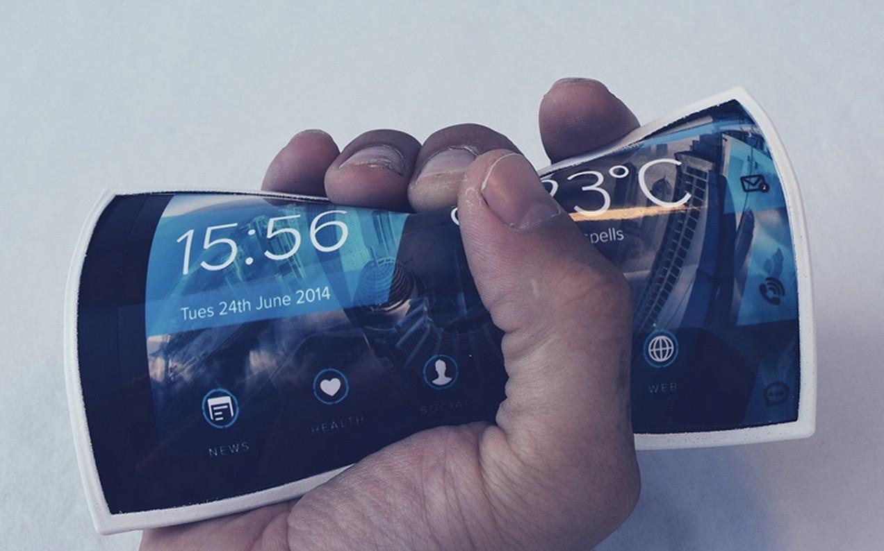 Самсунг иLG планируют выпускать складные мобильные телефоны в2015-м году