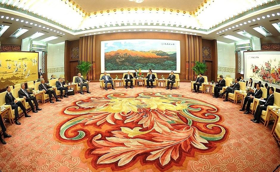 КНР установил отношения сСША выше отношений сРоссией