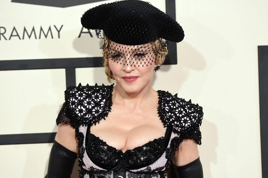Мадонна выбрила налобке символ восстания против Трампа