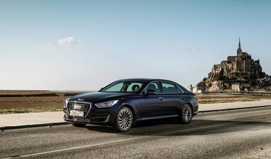 Бренд Genesis реализовал в Российской Федерации 46 авто за3 месяца