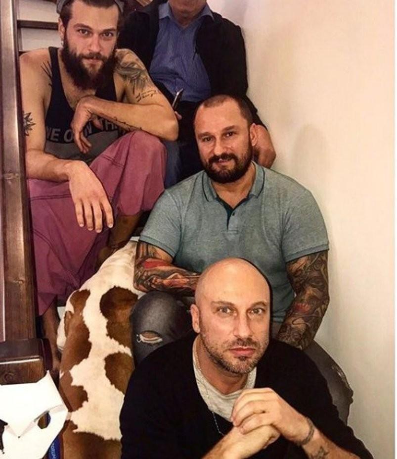 Размещены фотографии всех мужчин всемье Дмитрия Нагиева