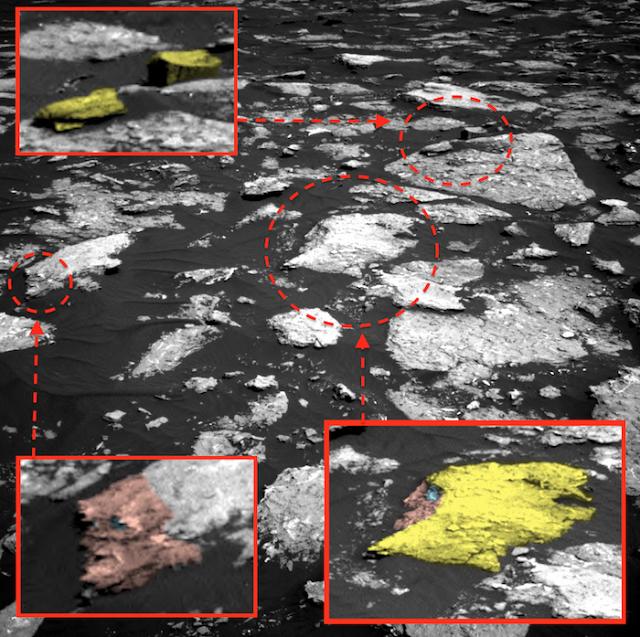 Ученые обнаружили наМарсе припаркованный НЛО