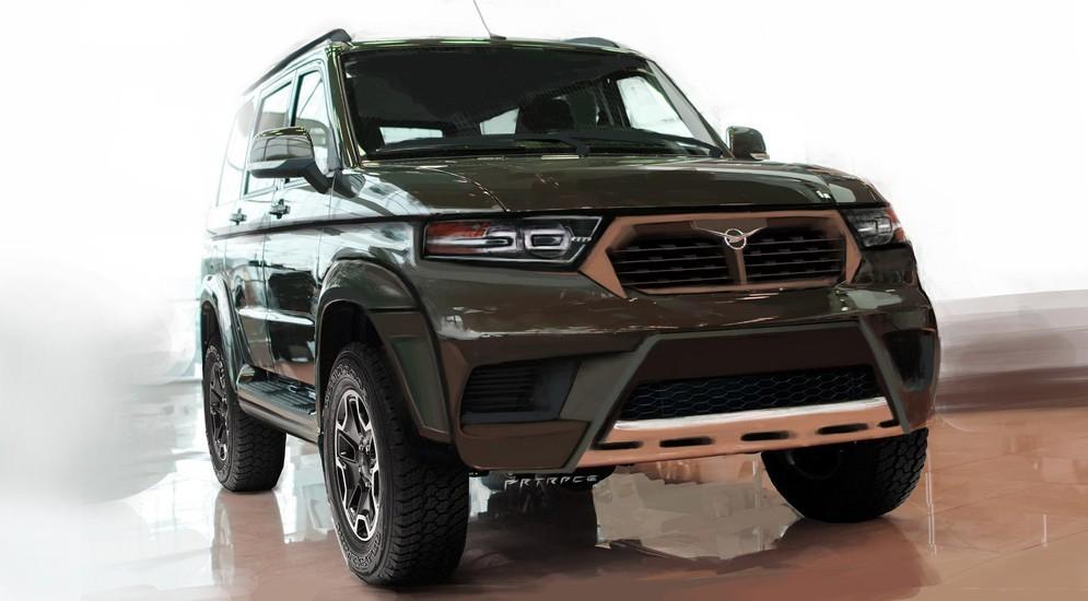 УАЗ вошел вТОП-10 производителей автомобилей попродажам в РФ