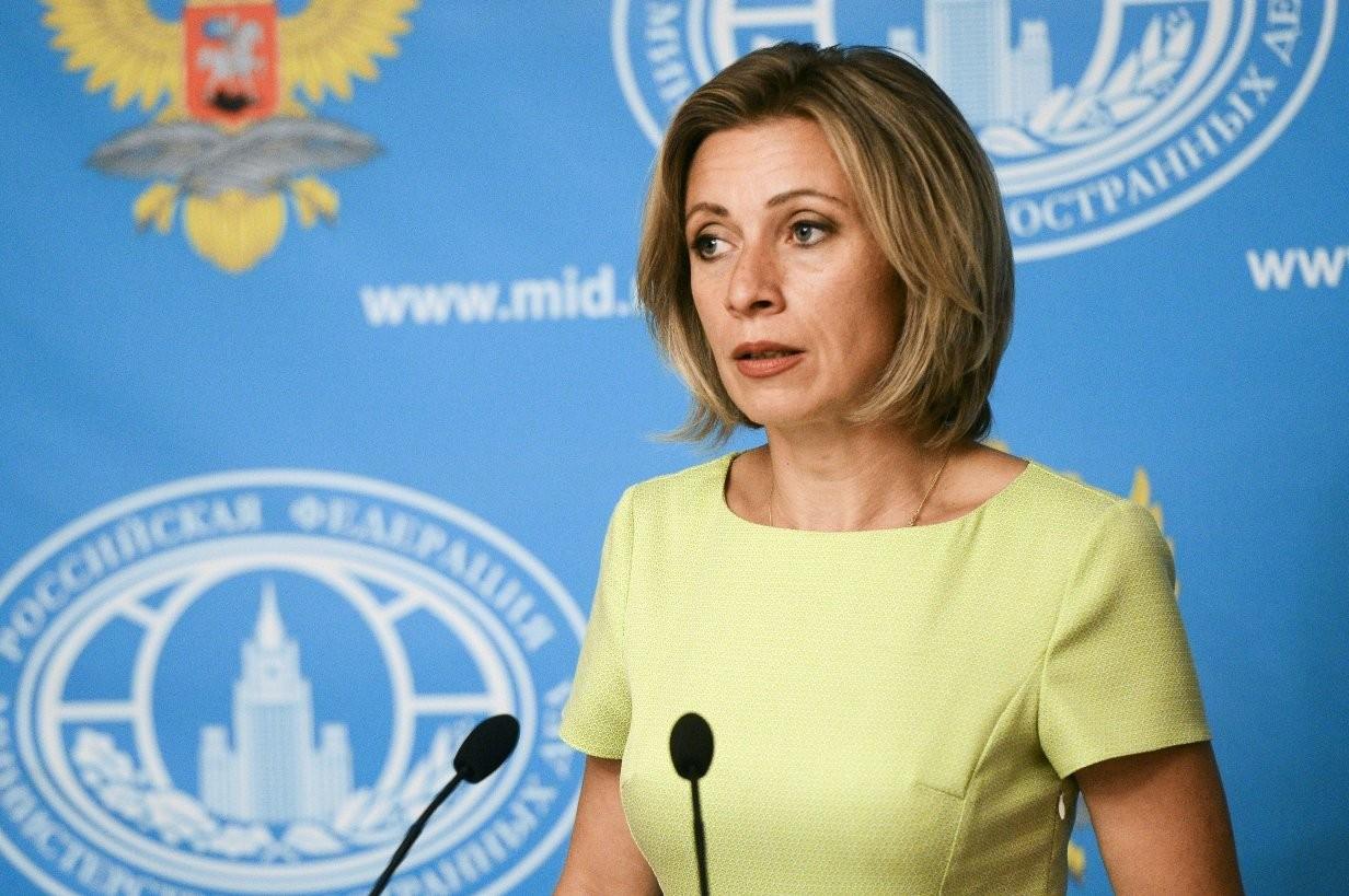 Захарова назвала информационной каруселью публикации о Российской Федерации внемецких СМИ