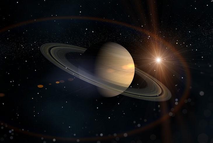 Спутники Сатурна «съедают» кольца планеты