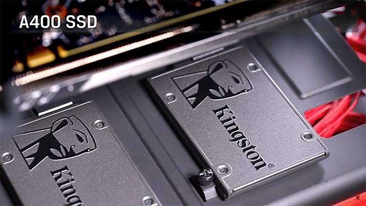 Kingston выпускает серию бюджетных SSD-дисков A400