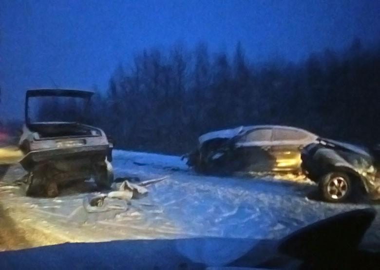 ВЛенинградской области вДТП погибли два человека