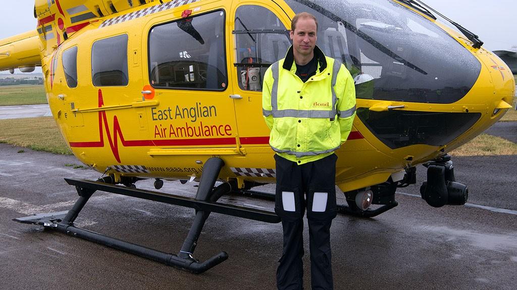 Принц Уильям планирует уйти изэкстренной врачебной службы