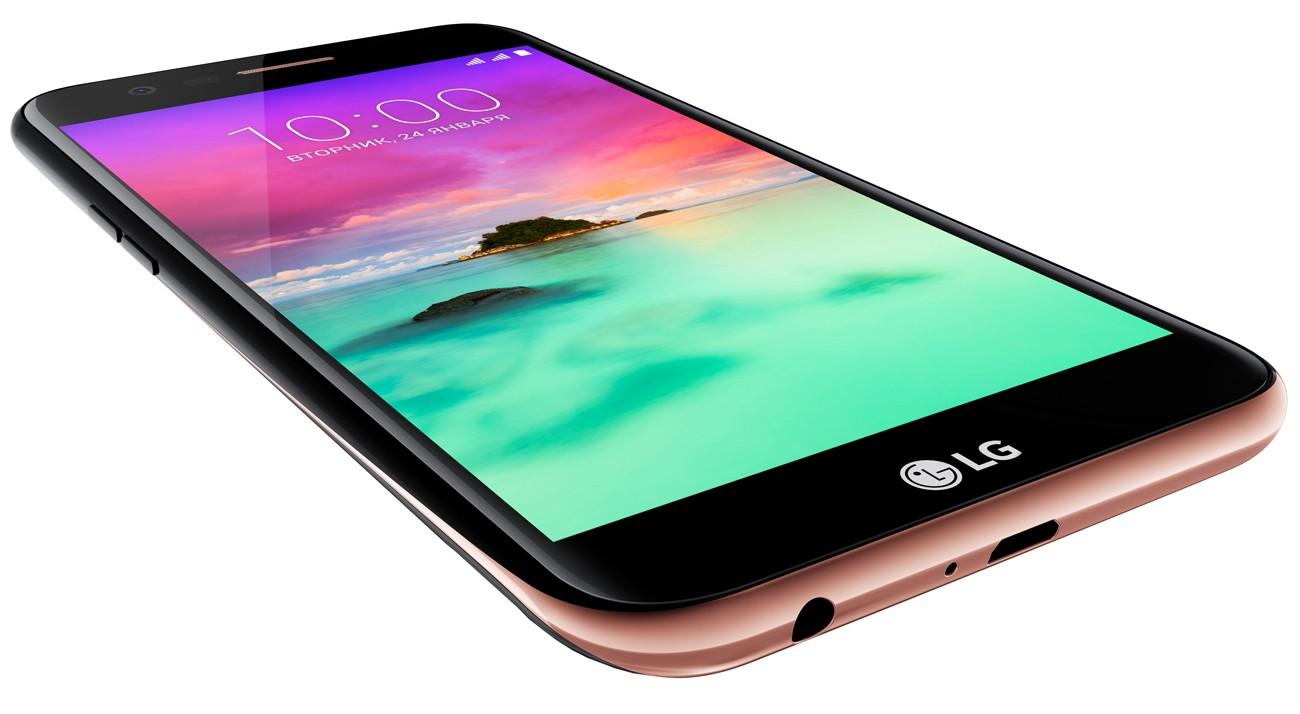 В Российской Федерации стал доступен LTE-смартфонLG K10 2017