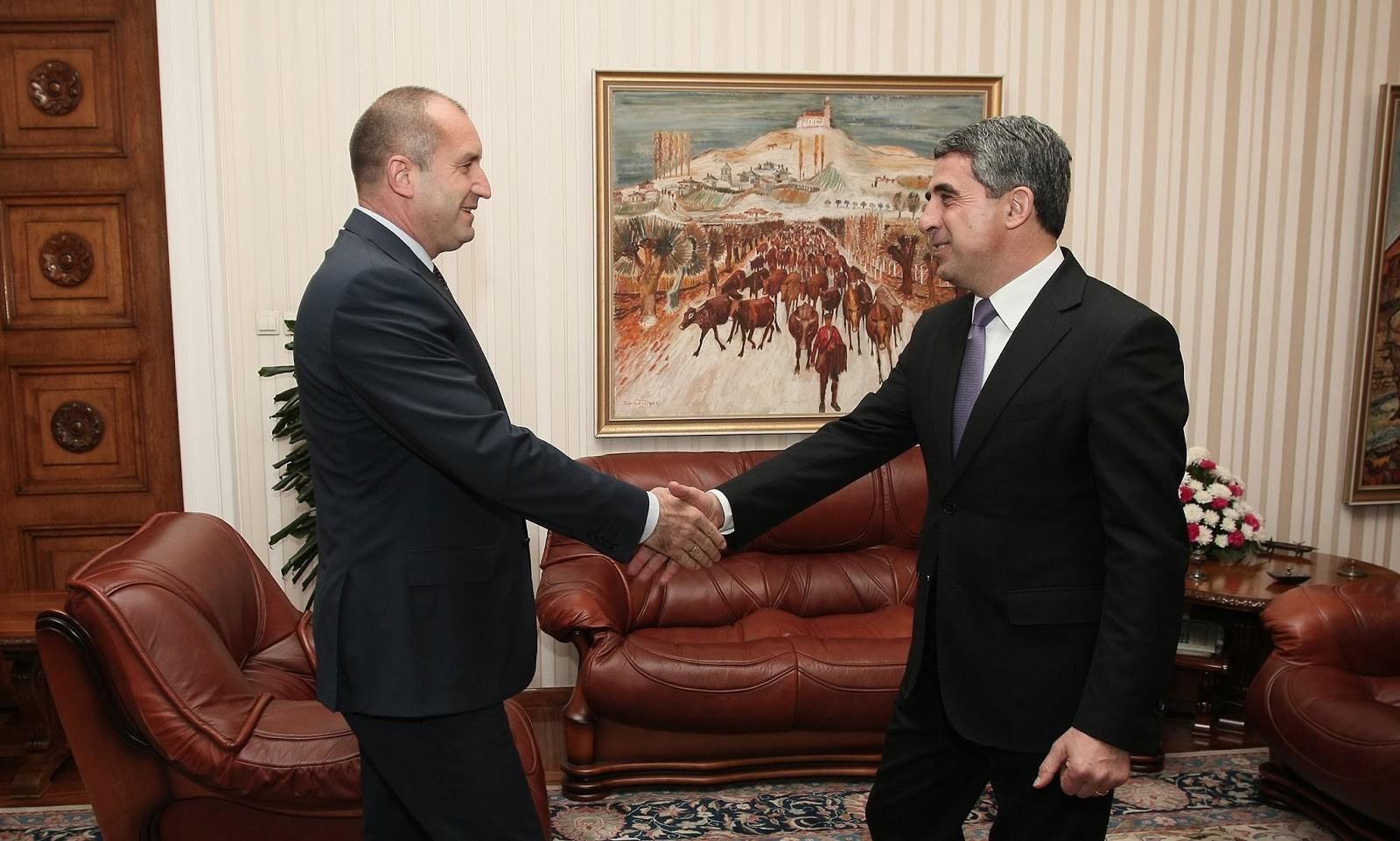 Президент Болгарии предостерег своего преемника от принятия Крыма русским