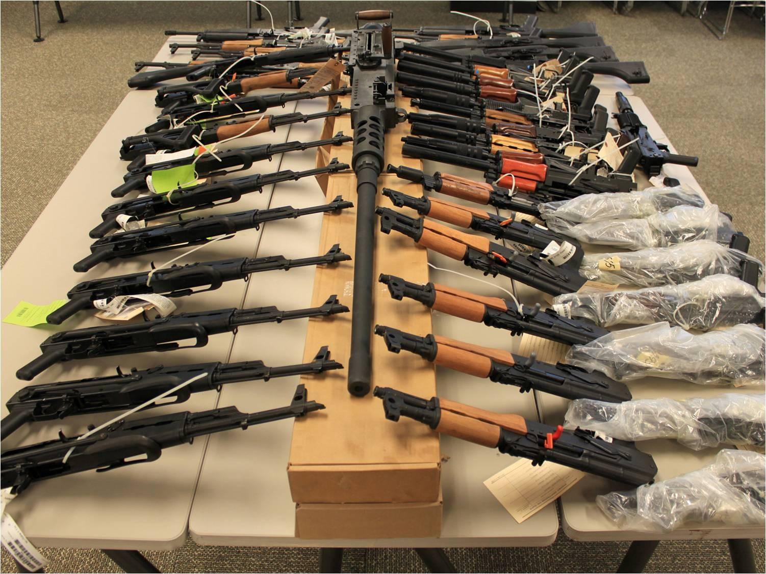 ВИспании найдено нелегальное оружие насумму около 10 млн евро