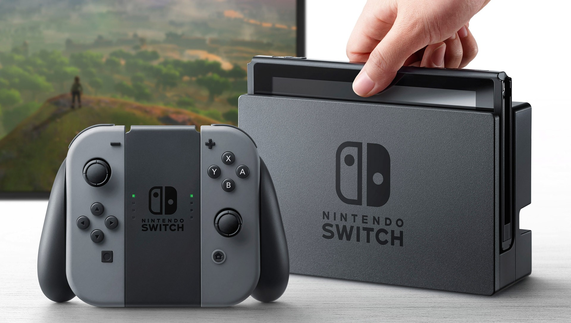 Компания Nintendo представила новейшую игровую консоль Switch