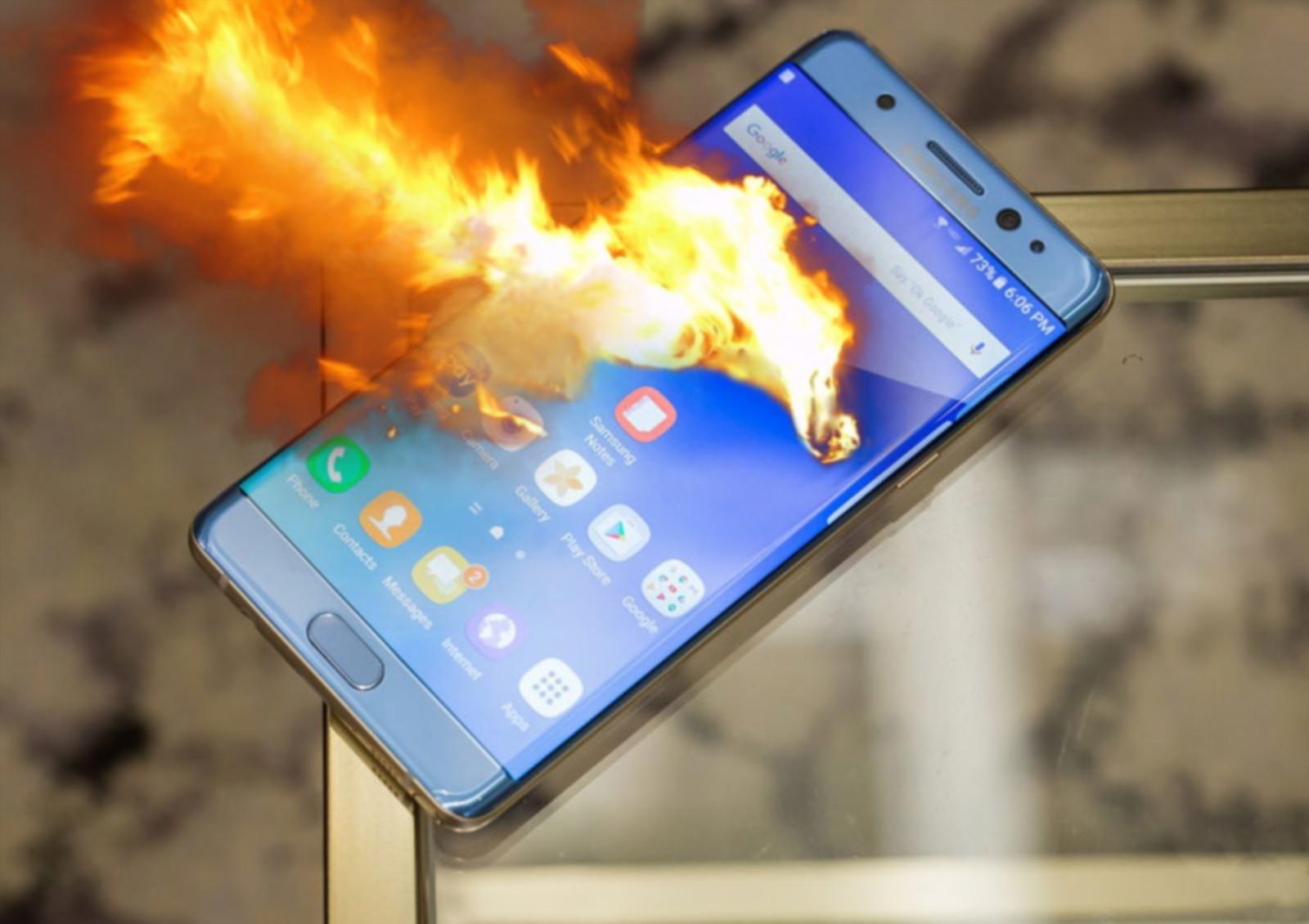 Самсунг выяснила главную причину взрывов Galaxy Note 7
