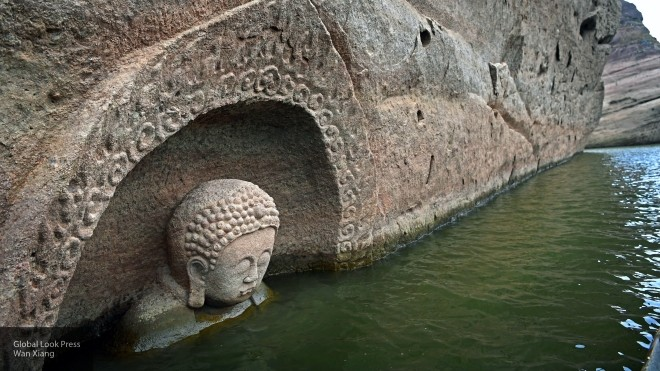 В КНР обнаружили статую Будды, возрастом неменее 600 лет